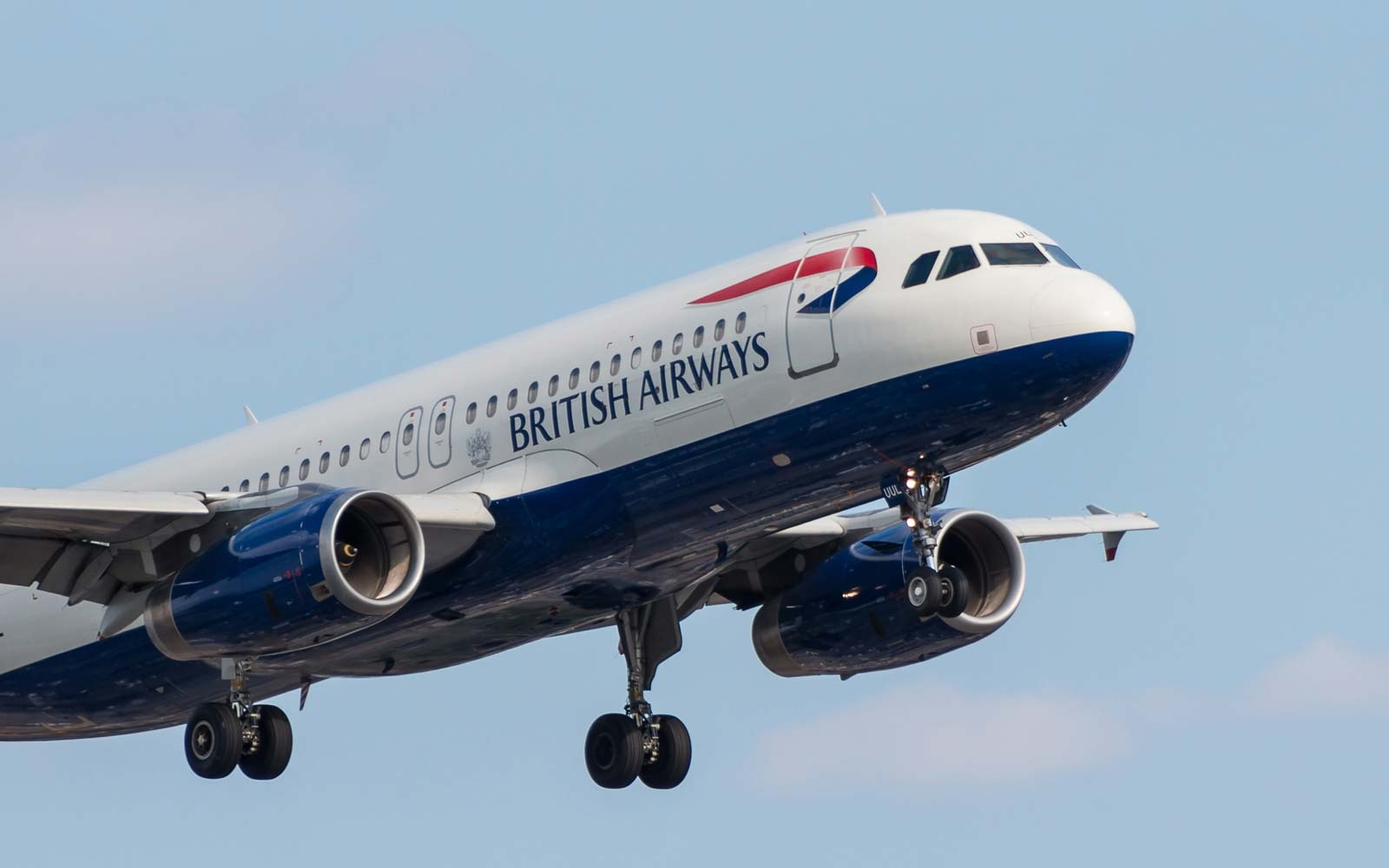 British Airways Plane landing