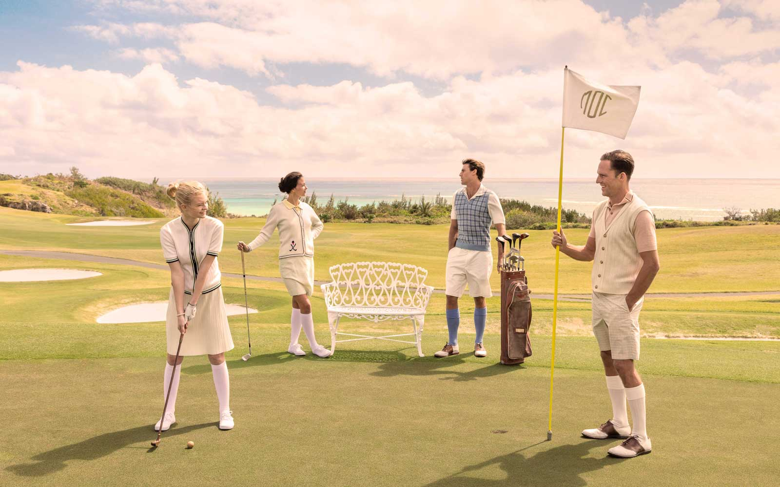 Golfing enthusiasts will enjoy the Mid Ocean Club.