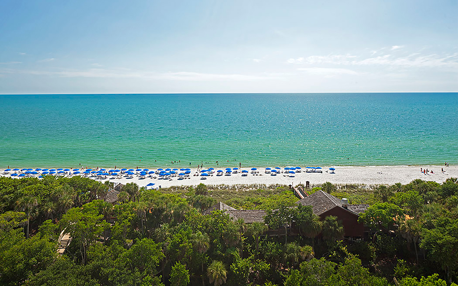 Beach at The Ritz-Carlton, Naples, Florida
