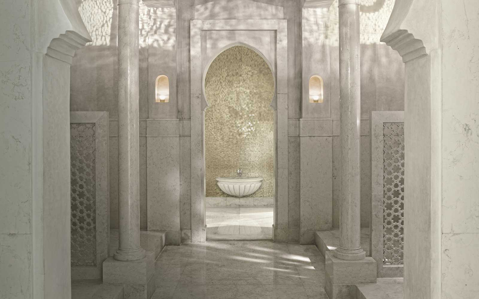Hammam Spa at the Royal Mansour, in Marrakech, Morocco