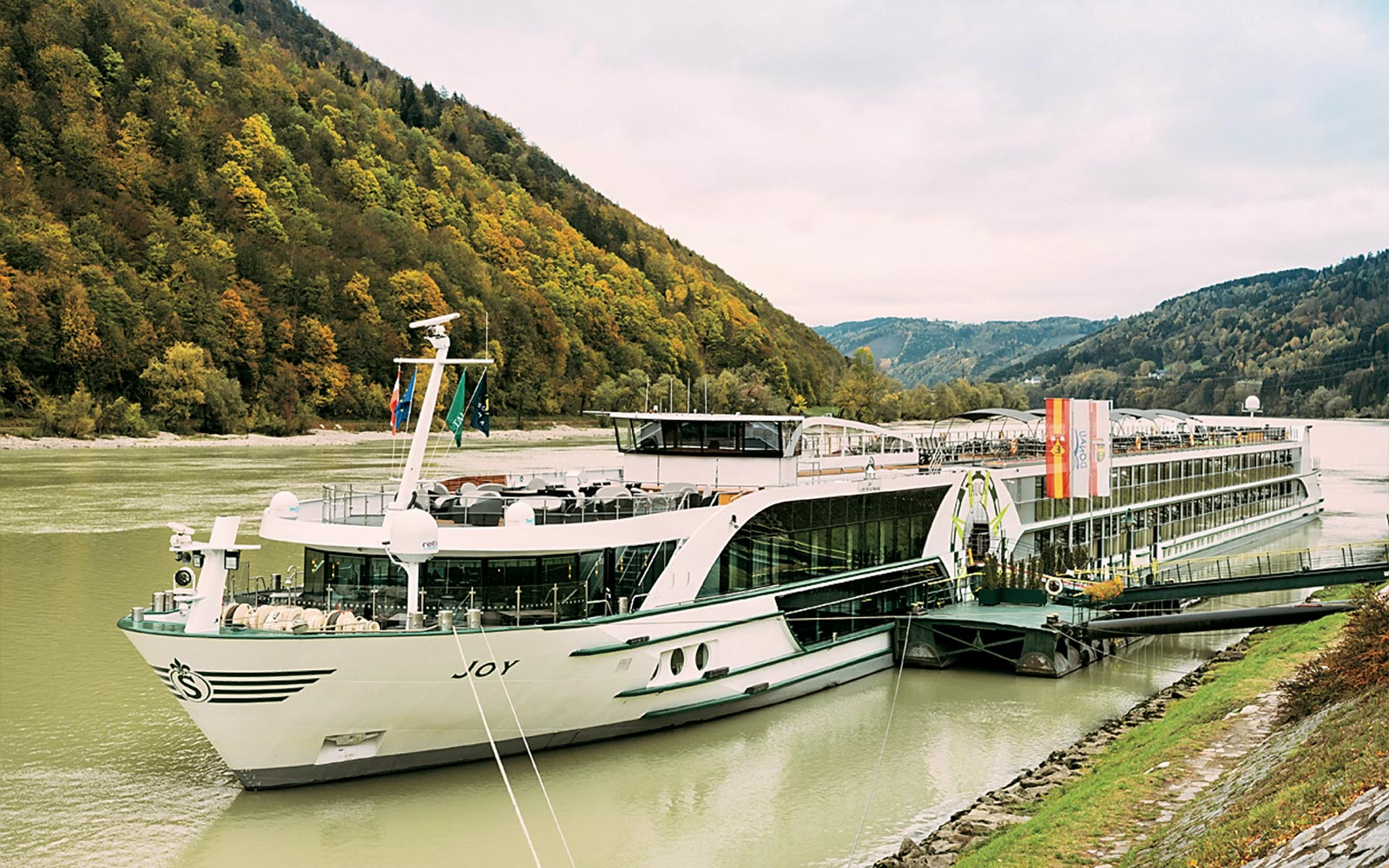 Tauck's JOY River Cruise vessel