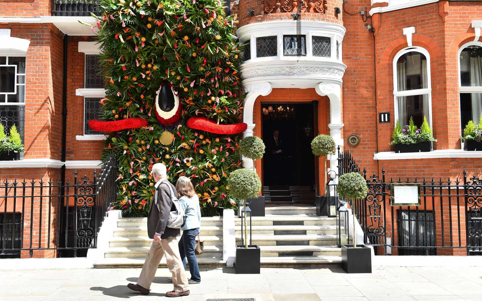 Exterior of the 11 Cadogan Gardens Hotel in London