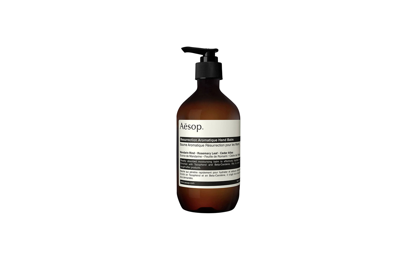 Best Non-oily Hand Cream: Aesop Resurrection Aromatique Hand Balm