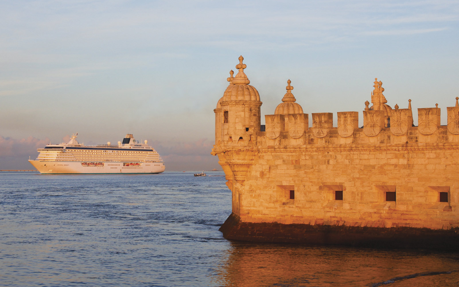 Crystal Cruises, Crystal Serenity, in Lisbon, Portugal