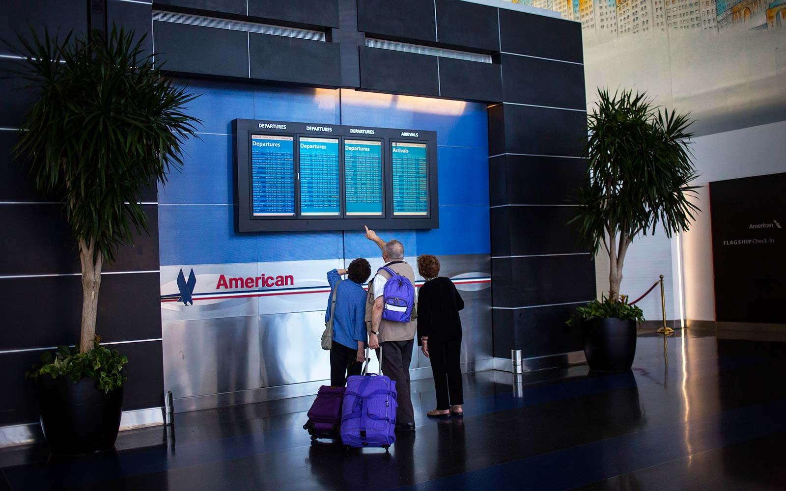 American Airlines/US Airways Terminal at John F. Kennedy Airport New York City
