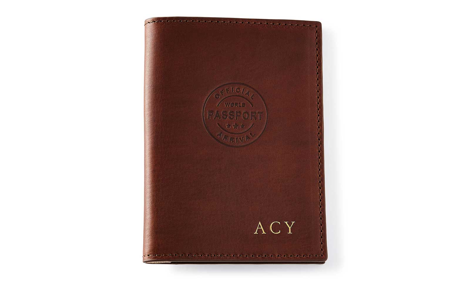 Graphic Image Personalized Passport Cover