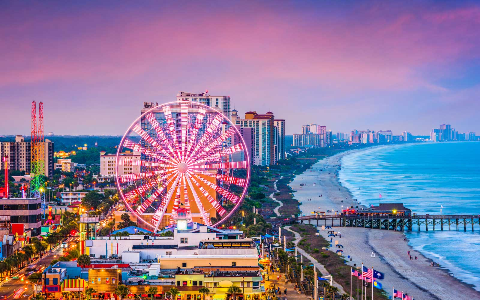 Head to destinations like Myrtle Beach for an affordable spring break getaway in 2019.