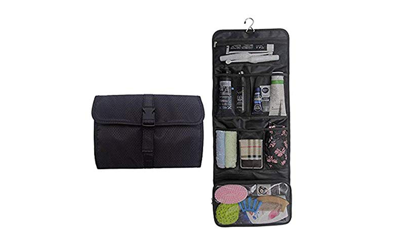 Best Roll-Up Toiletry Bag: Tanto Hanging Toiletry Bag