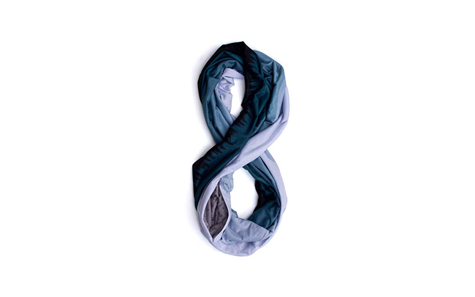 Scarf with pouch
