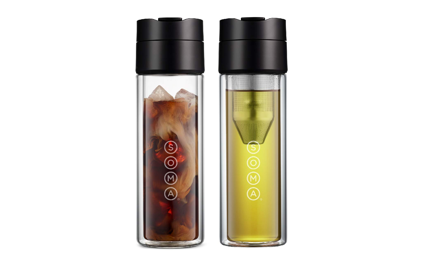 Soma Glass Tea and Coffee Brew Bottle