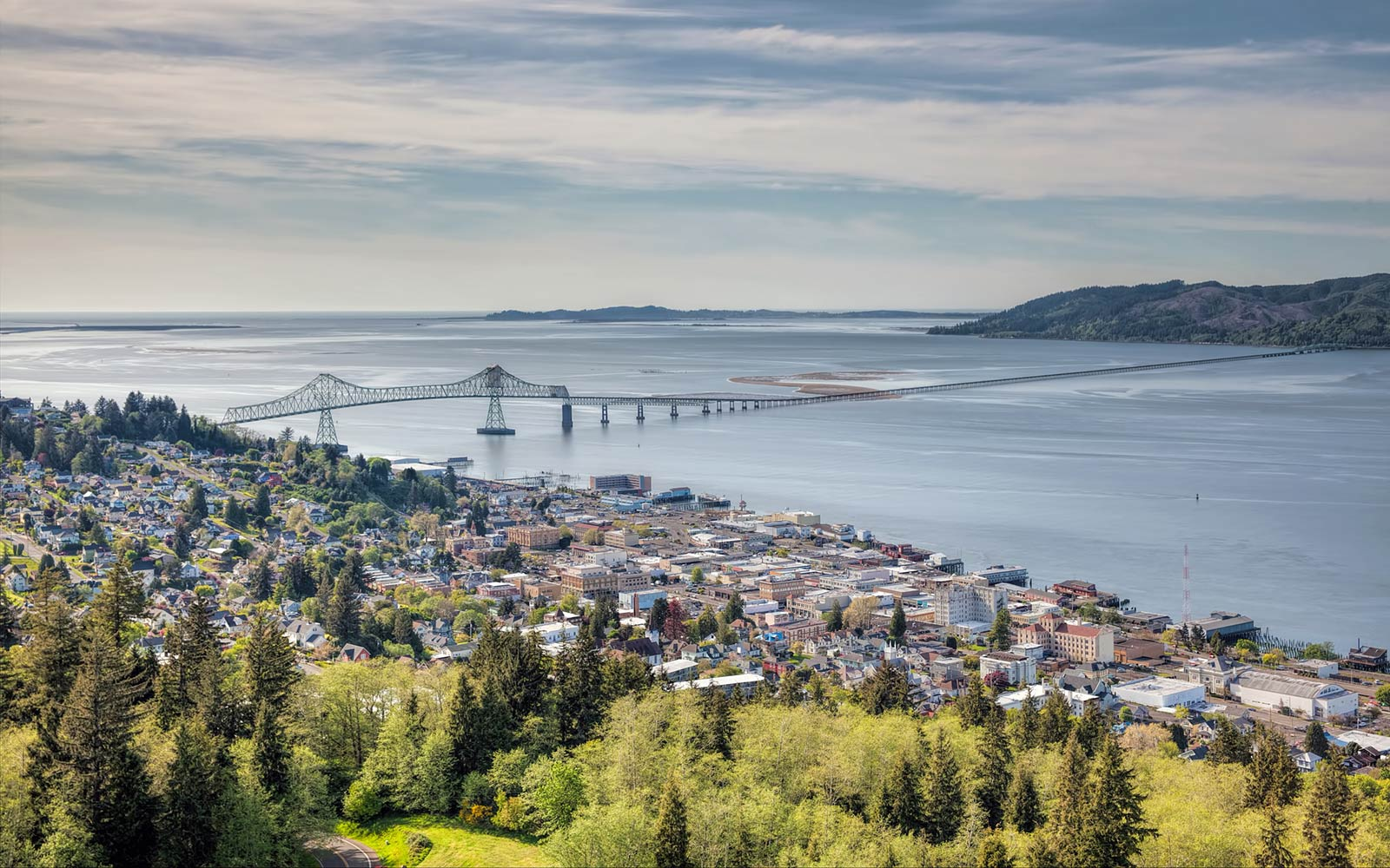 Astoria-Megler Bridge, Oregon, Springtime