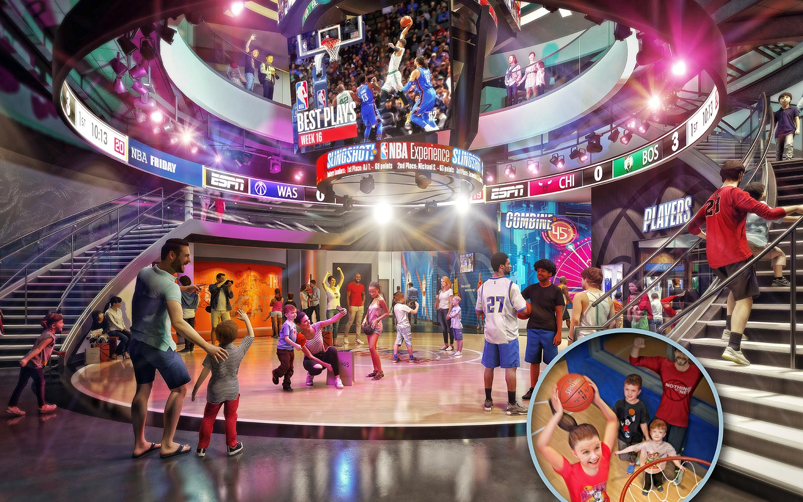 Disney World NBA Experience