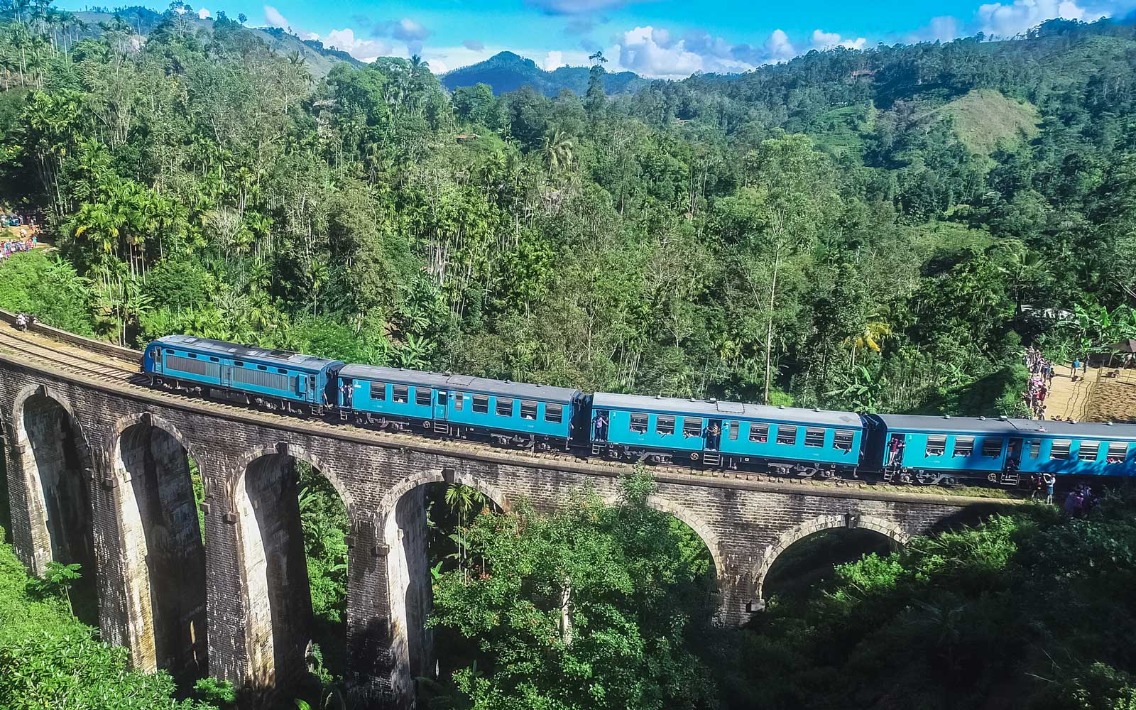 Famous Demodara Nine Arch Bridge. Ella, Sri Lanka.