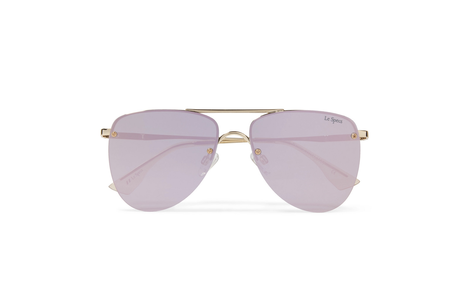 Le Specs 'The Prince' Aviator Sunglasses