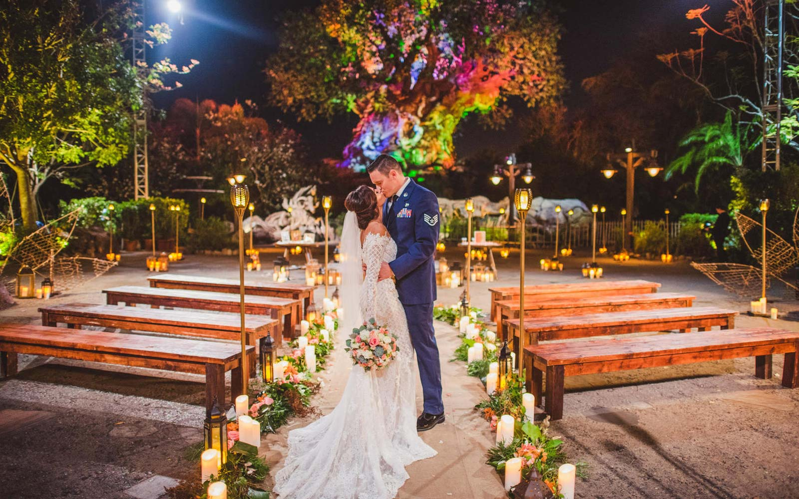 Walt Disney World Opens Wedding Ceremony Venue at the Tree of Life