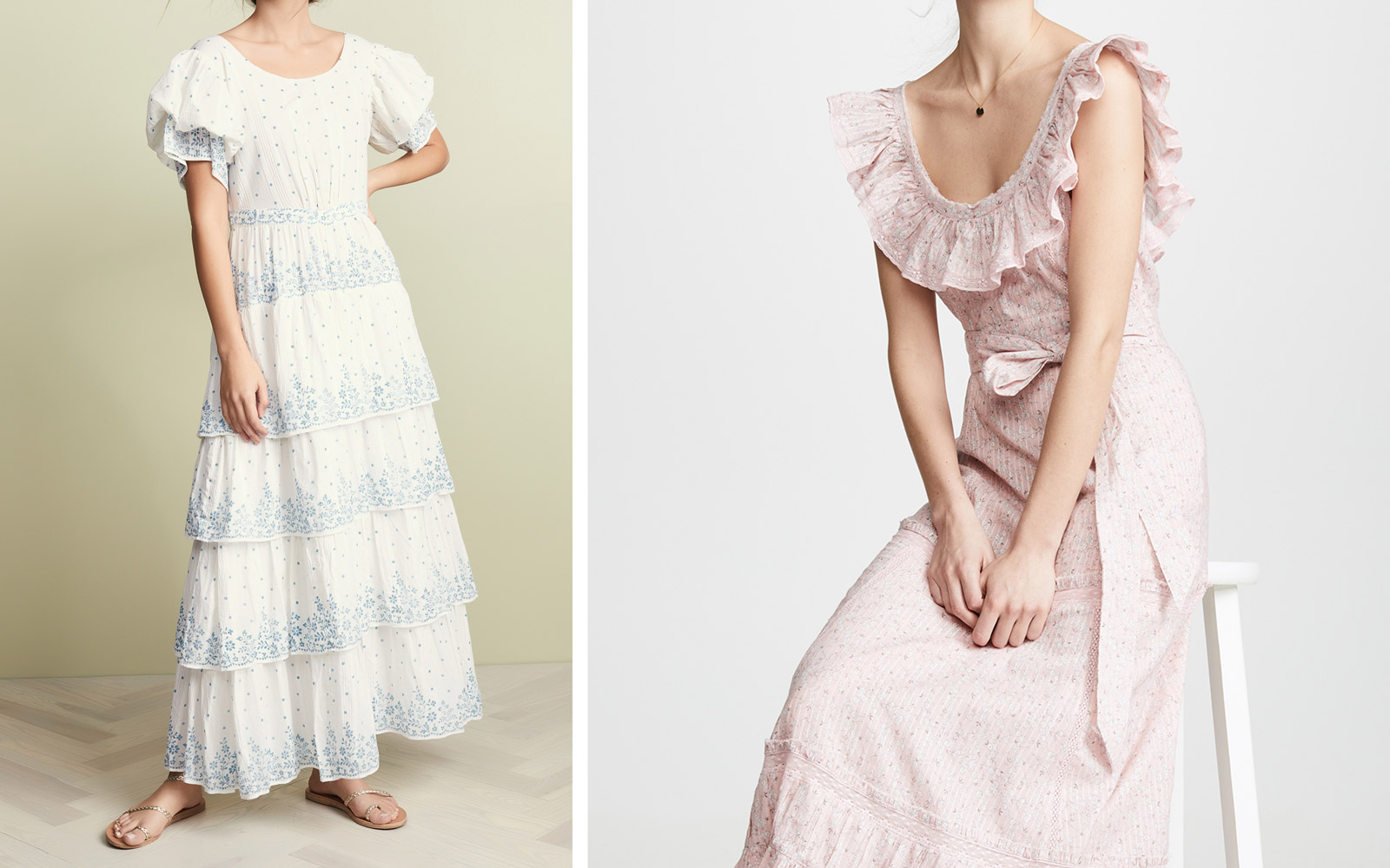 LoveShackFancy flowy spring dresses