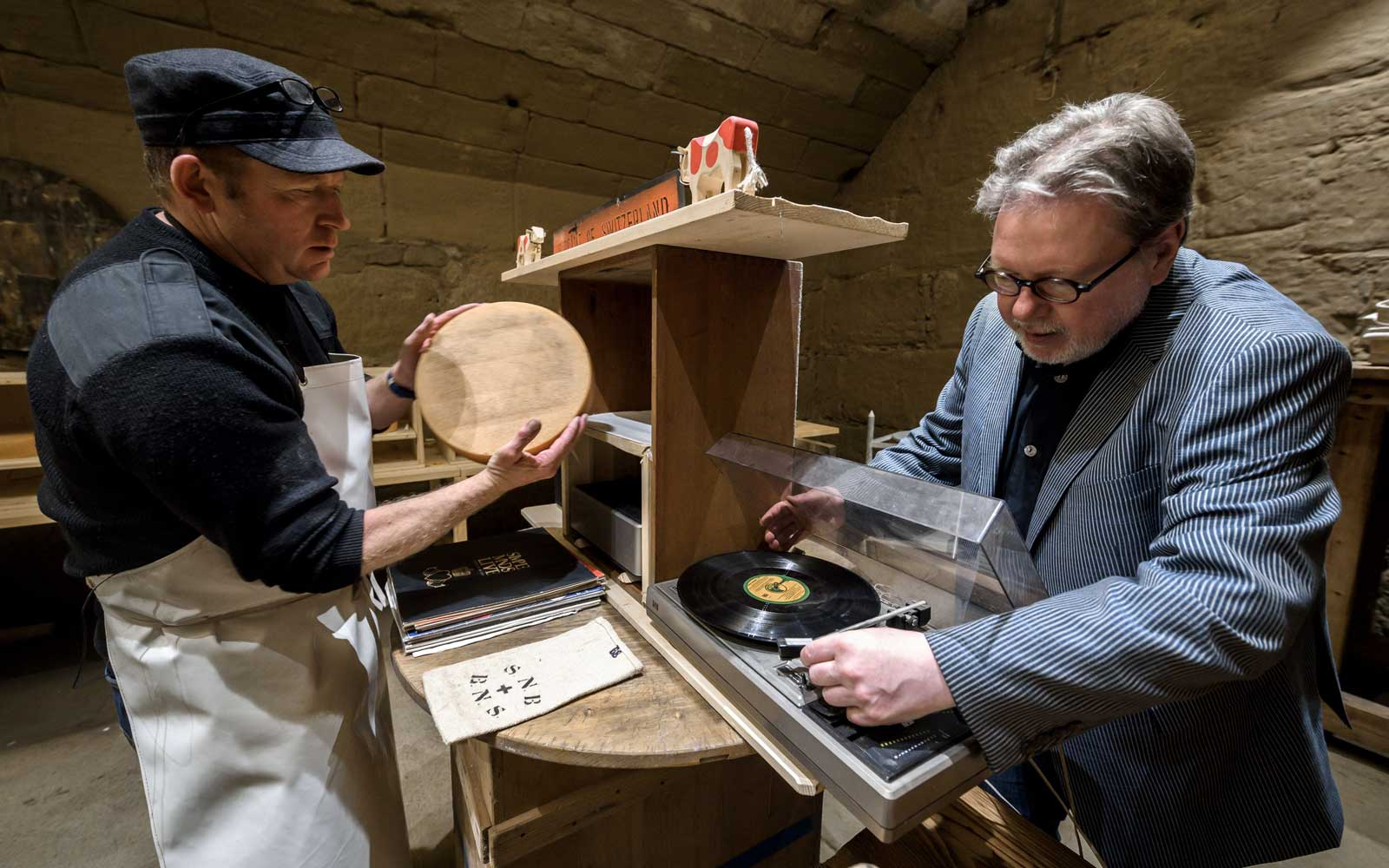 Music Aged Emmental Swiss cheese Study