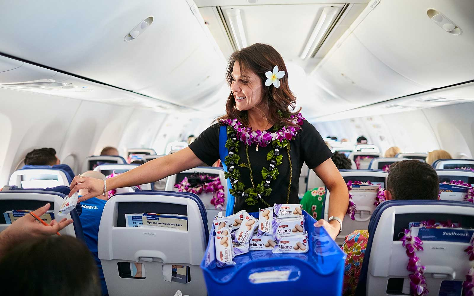 Southwest Airlines - Oakland to Hawaii Inaugural Flight