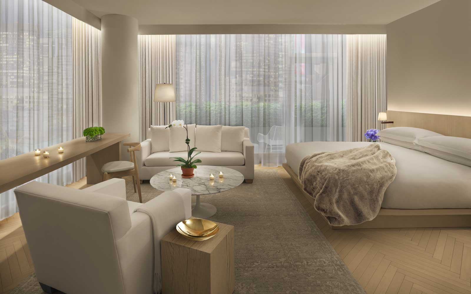 Loft Suite at the Times Square EDITION hotel