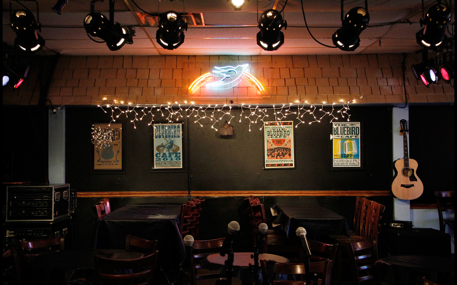 The Bluebird Cafe Stage