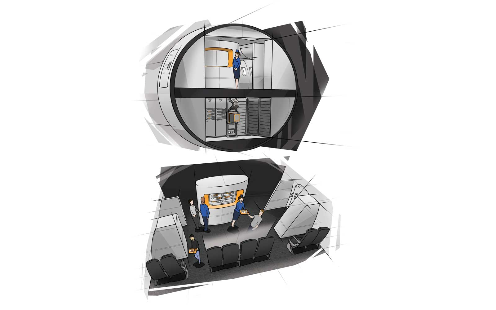 TEAGUE Airplane Galley Concepts