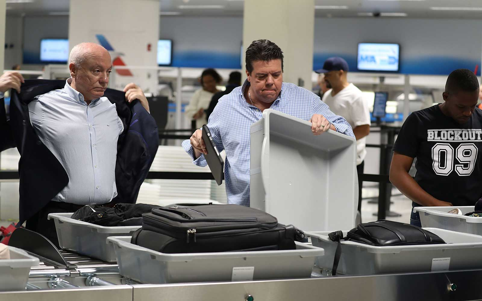 Airport Security with Laptops
