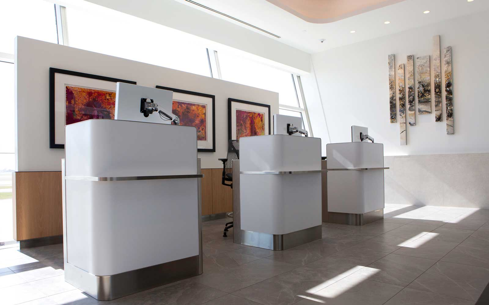 New American Airlines Flagship Lounge at DFW Airport
