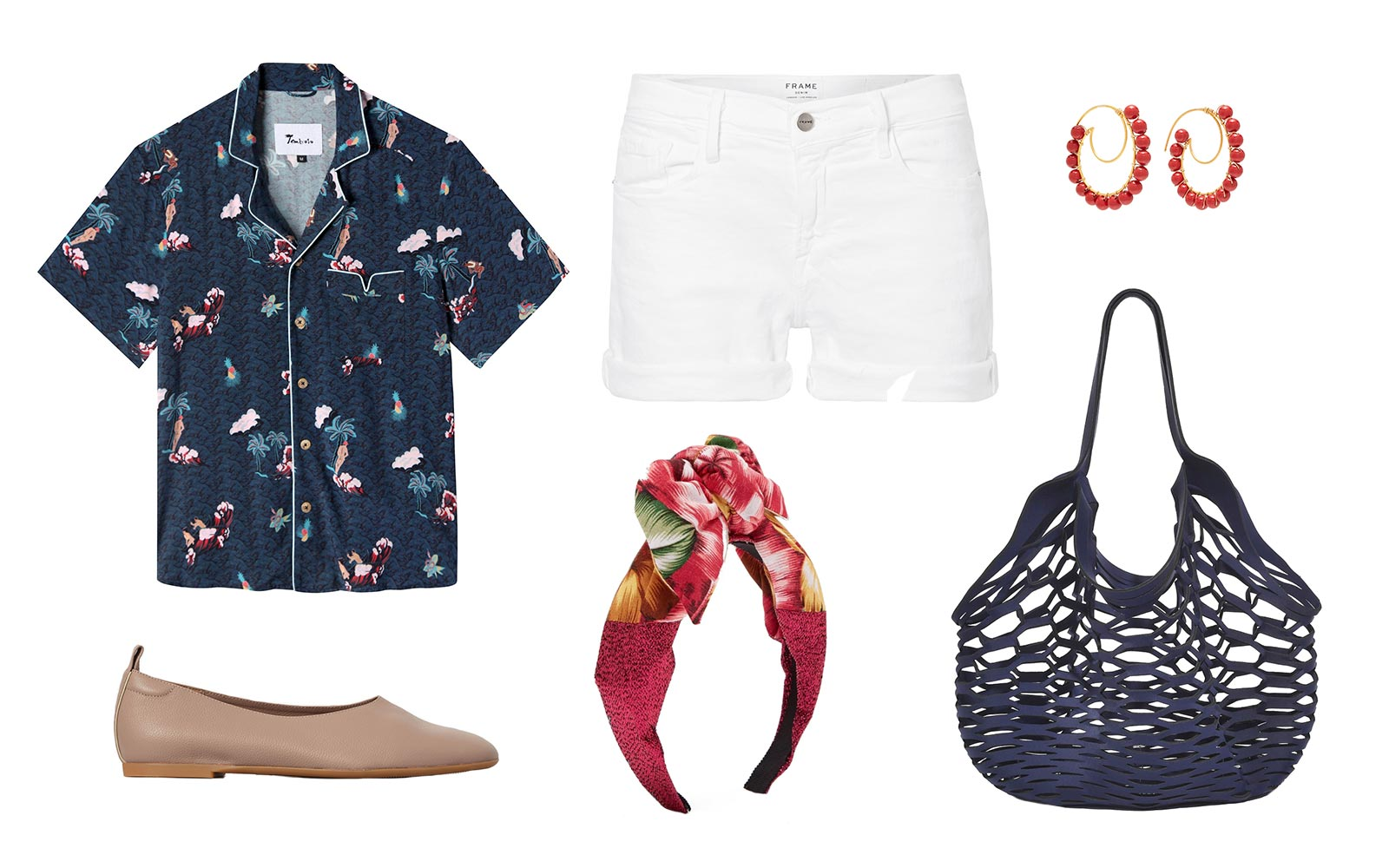 Hawaiian shirt styling