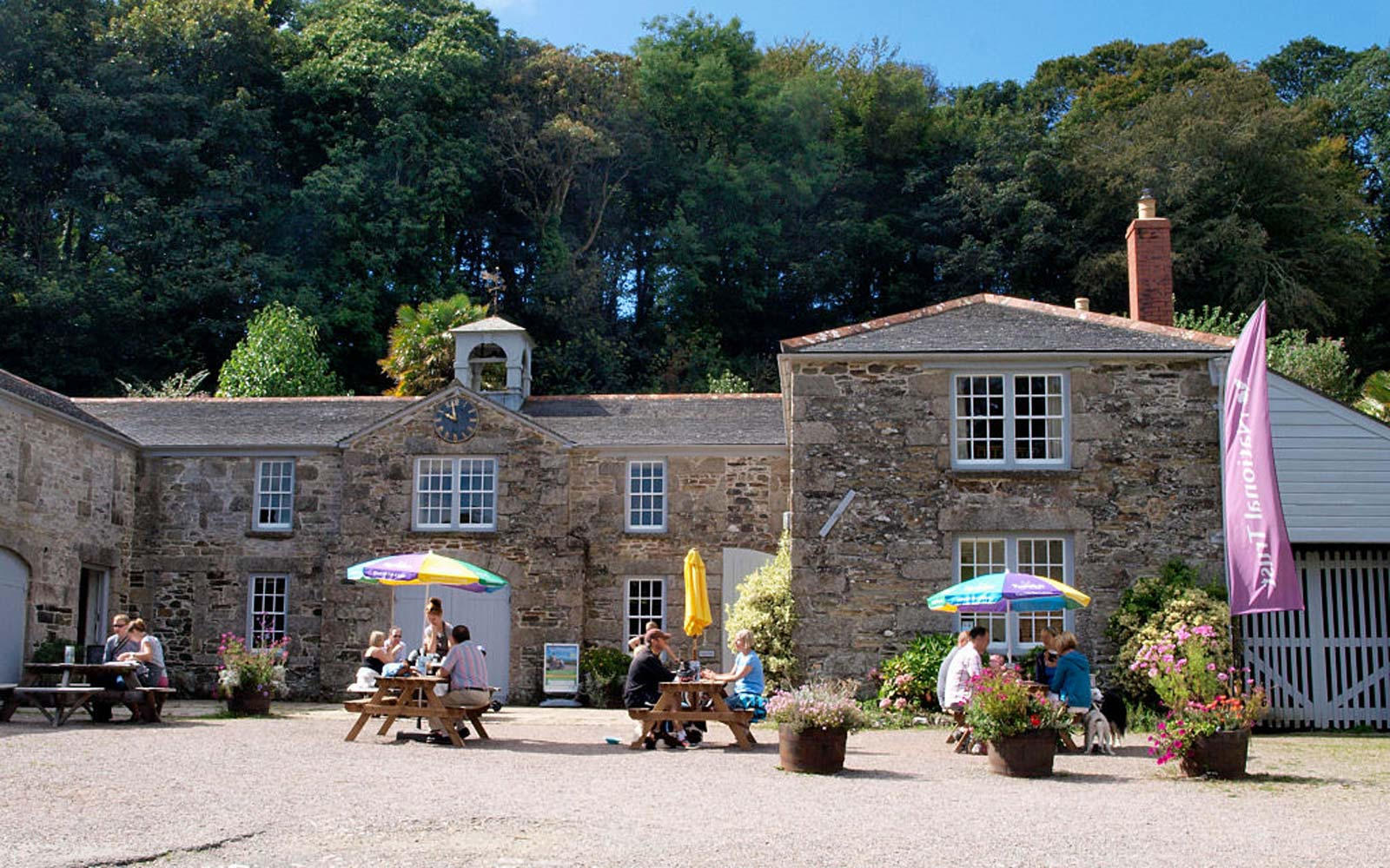 The Stables Cafe, Penrose Estate, Cornwall