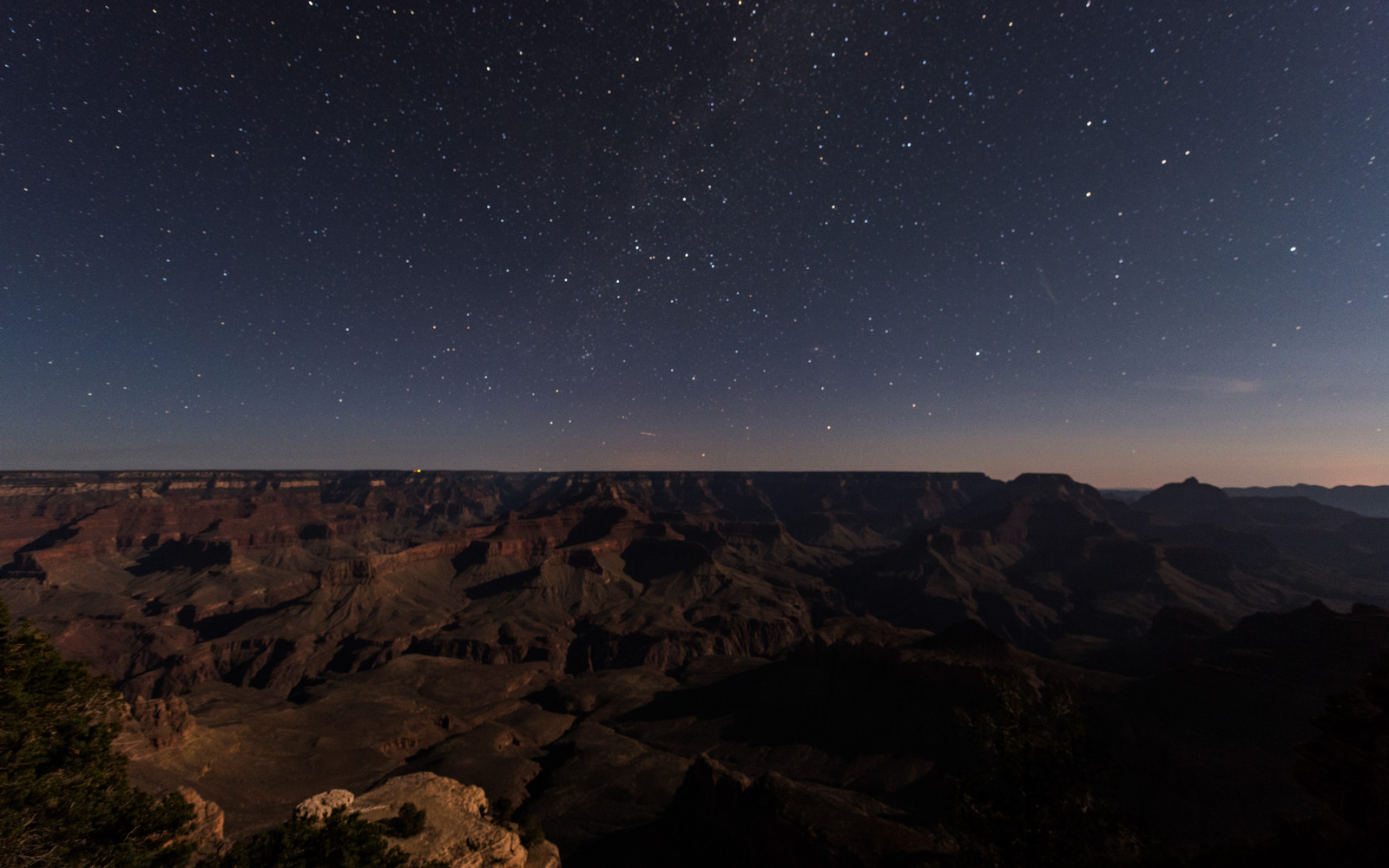Grand Canyon National Park Dark Sky Status