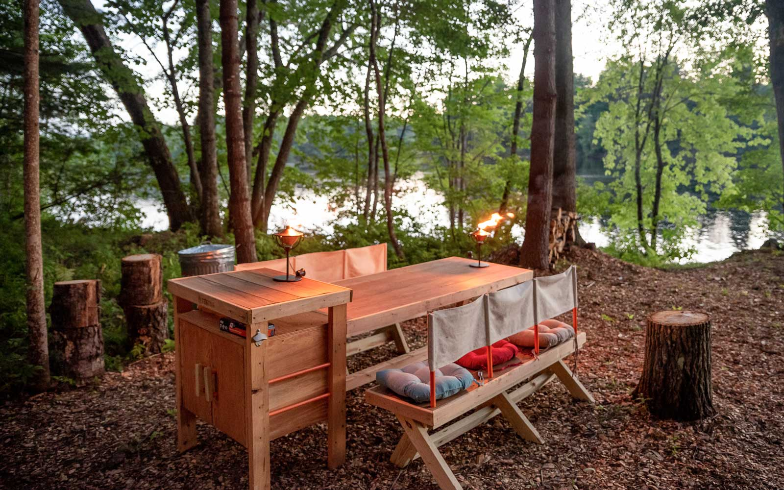 Glamping experiences with Tentrr