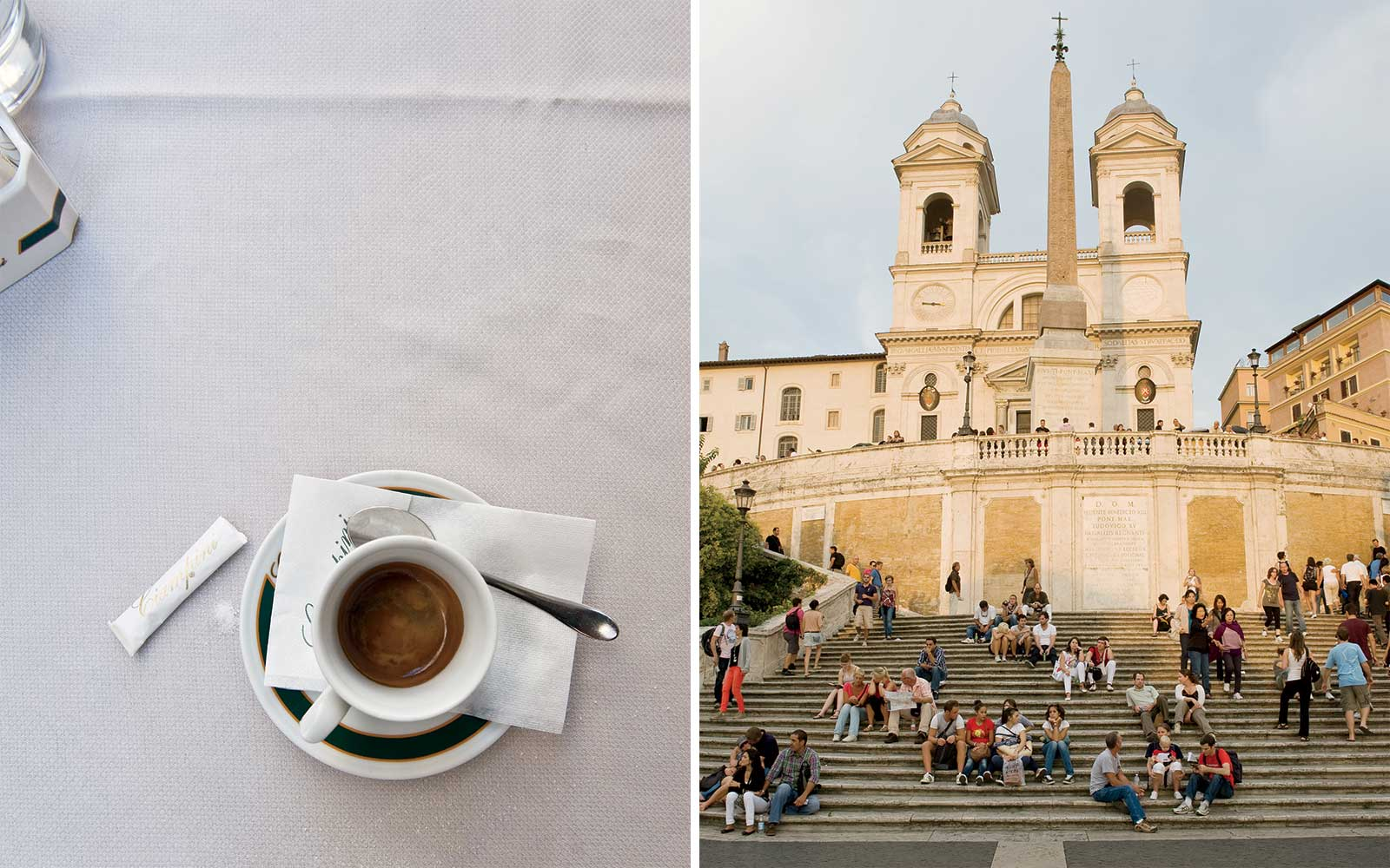 Rome: Coffee and Spanish Steps