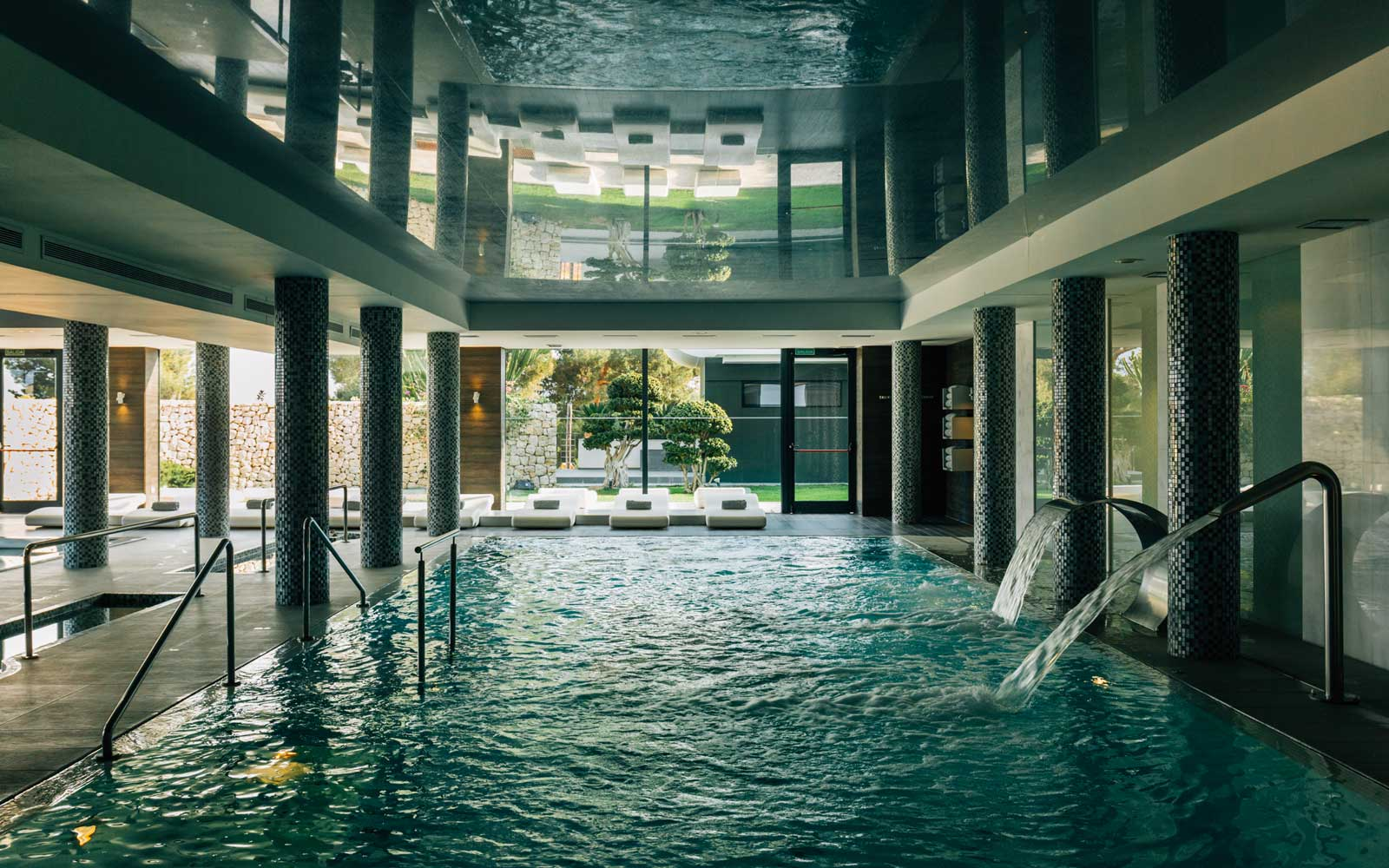 Indoor pool at Sha Wellness