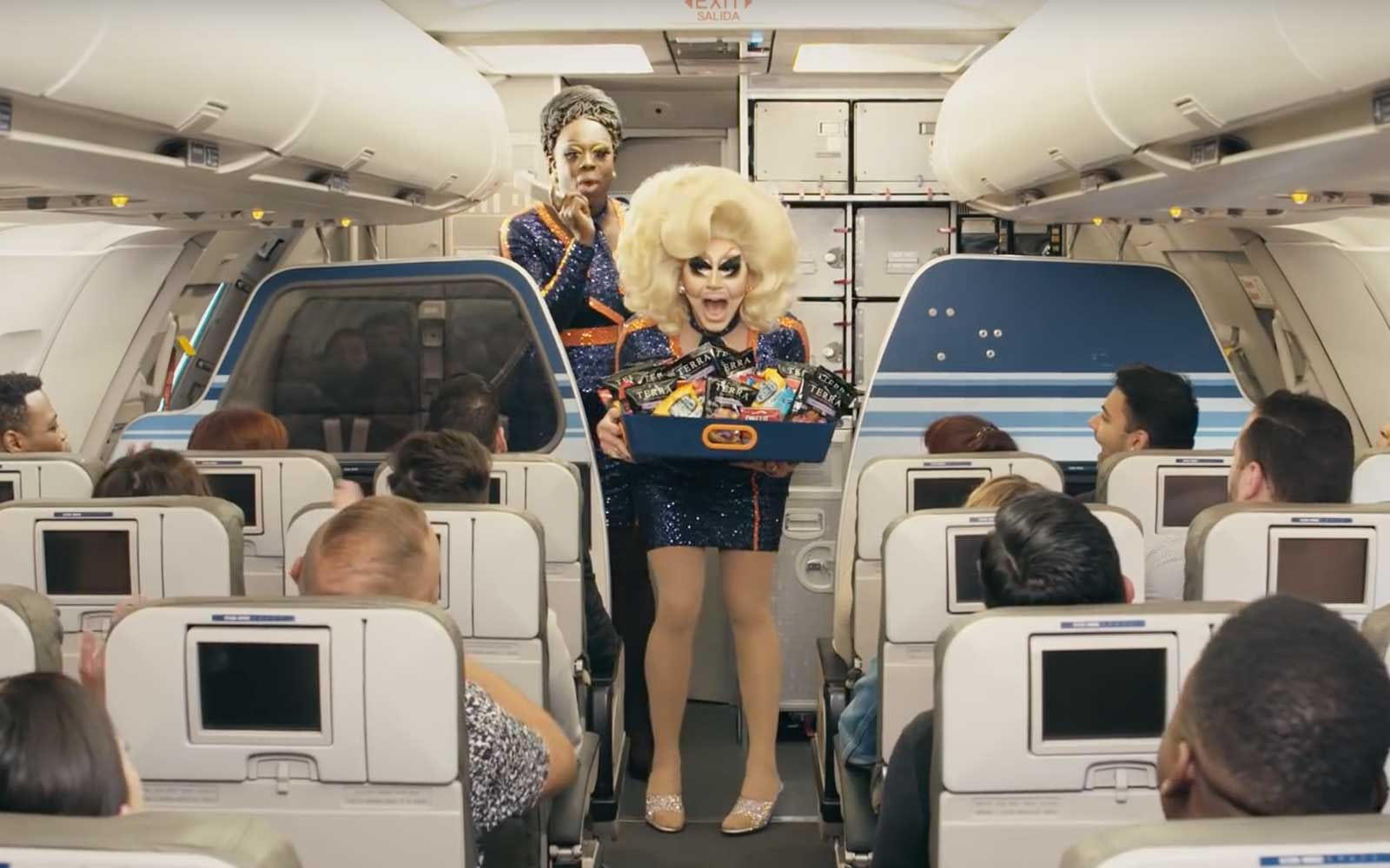 JetBlue and RuPaul's Drag Race