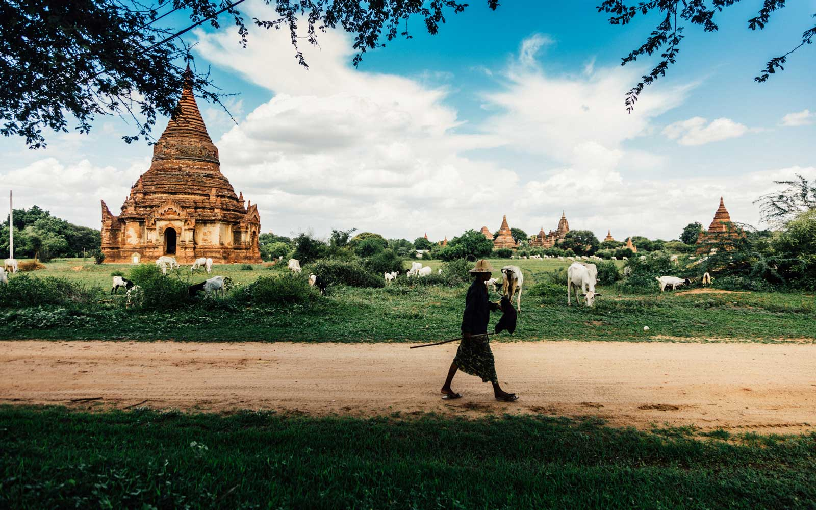 Bagan (formerly Pagan) is an ancient city located in the Mandalay Region of Burma (Myanmar)