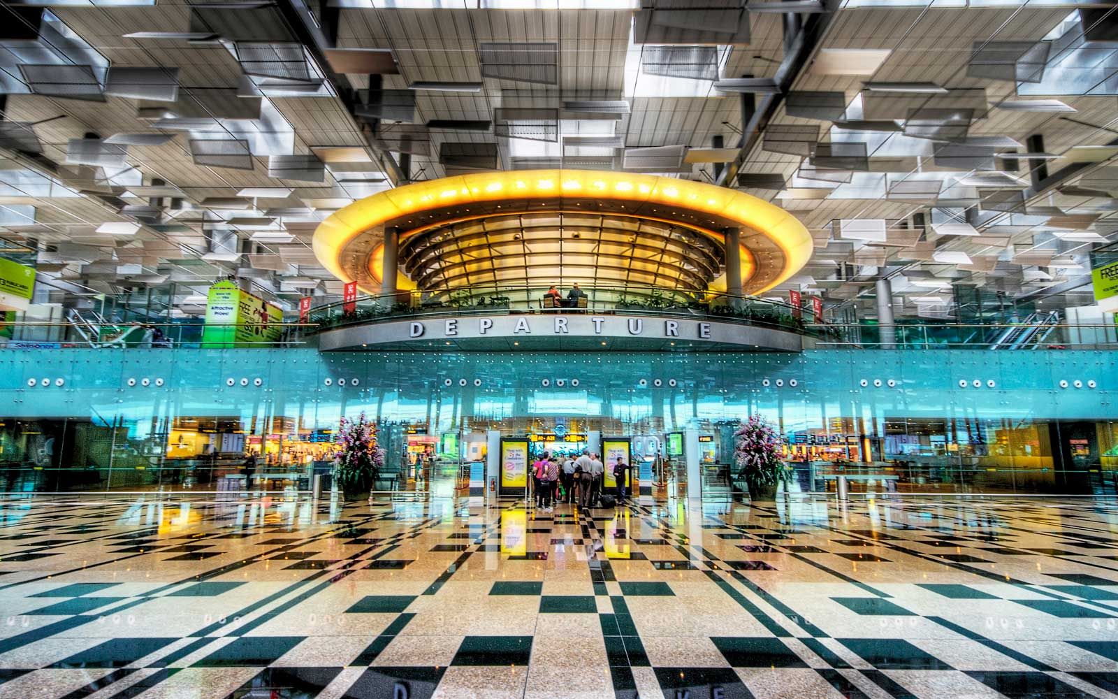 The Departure Lounge of Changi Airport Terminal 3, Singapore