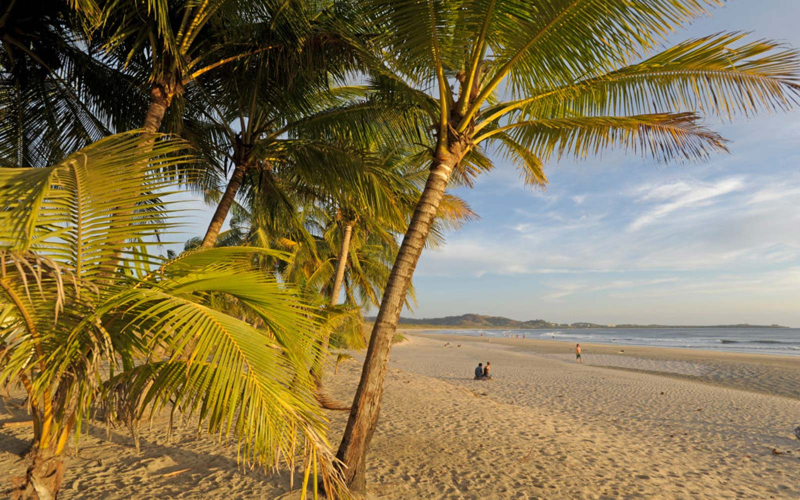 Sunset on Playa Grande beach, near Tamarindo