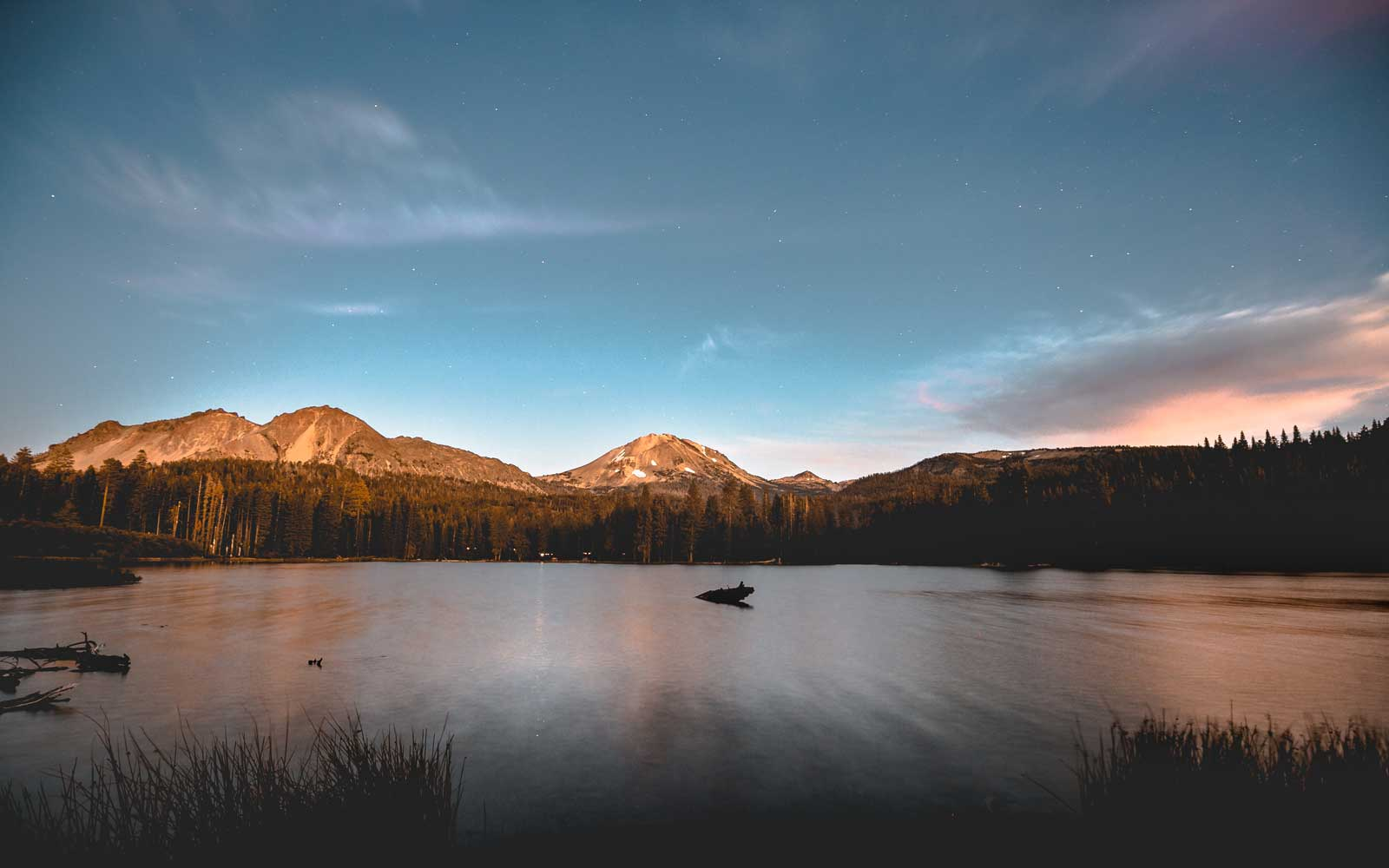Lassen Volcanic National Park is a prime hiking destination.