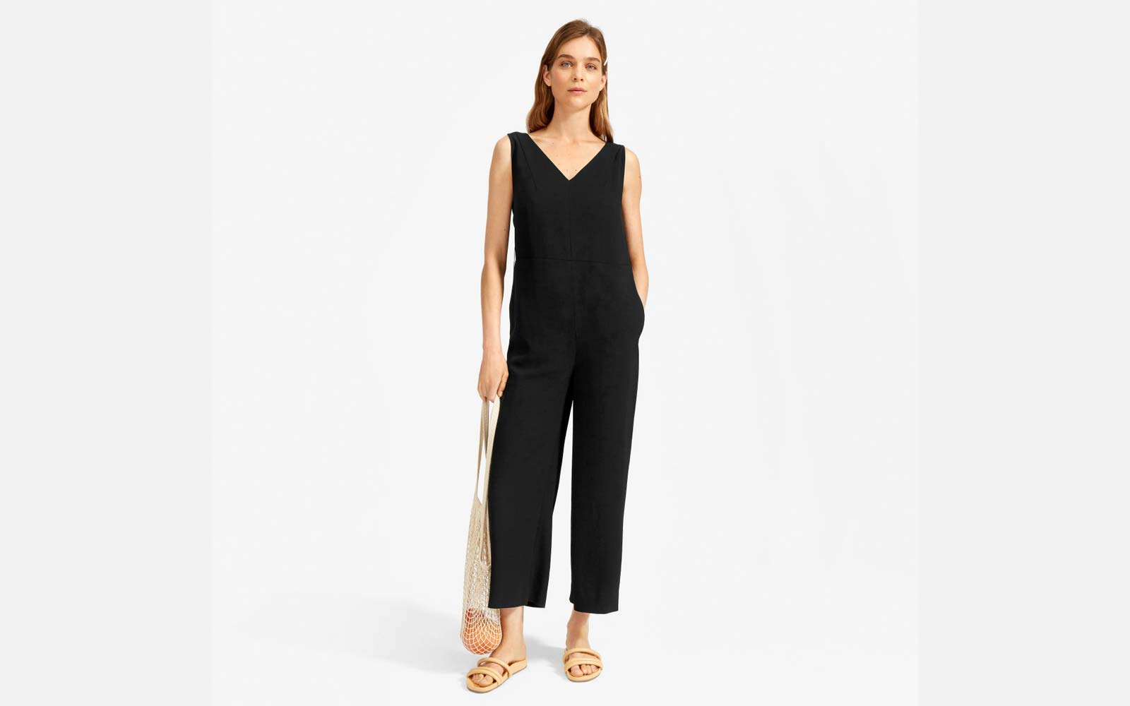 Everlane The Japanese GoWeave Essential Jumpsuit