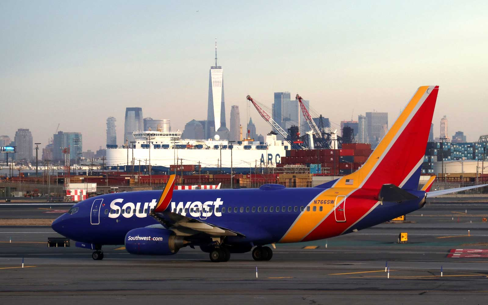 Southwest Airlines at Newark Airport
