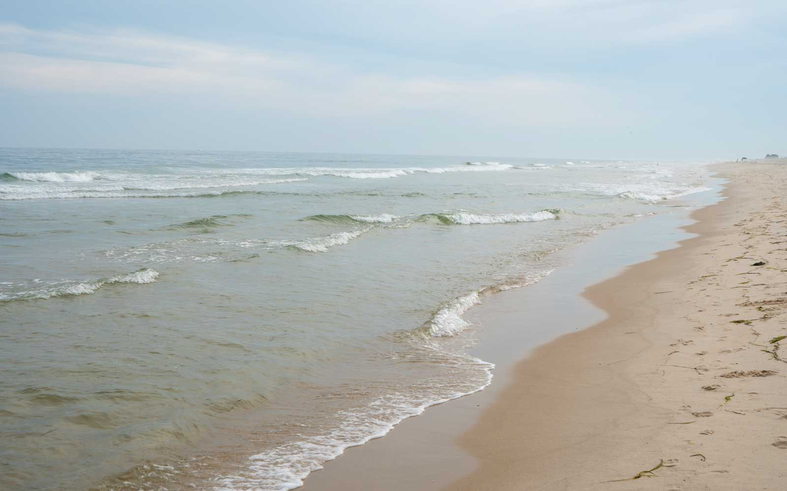 Coopers Beach in Southhampton, New York during summertime