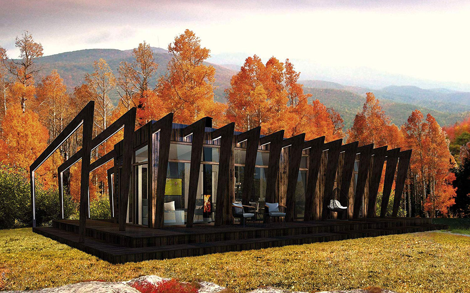 """You Can Now Buy the Most Gorgeous """"Cliff"""" Tiny Home on Amazon"""