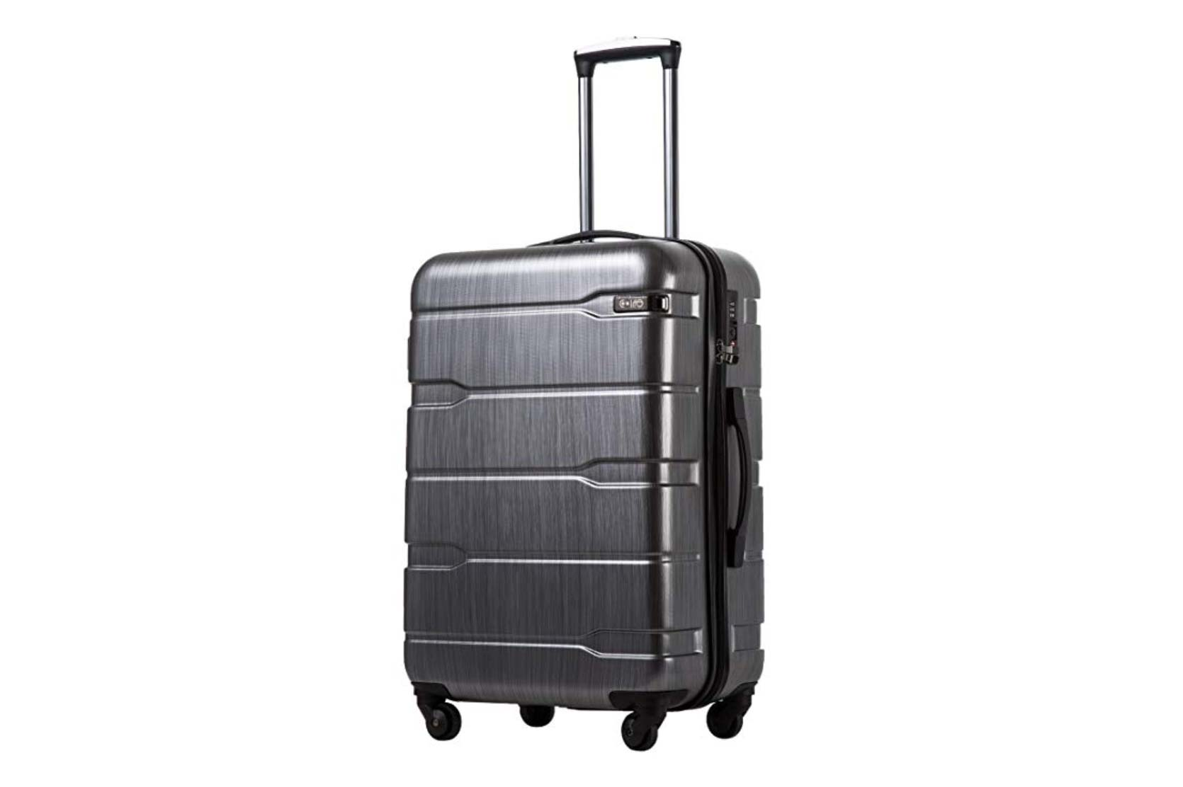 COOLIFE Luggage Expandable Suitcase Carry-On
