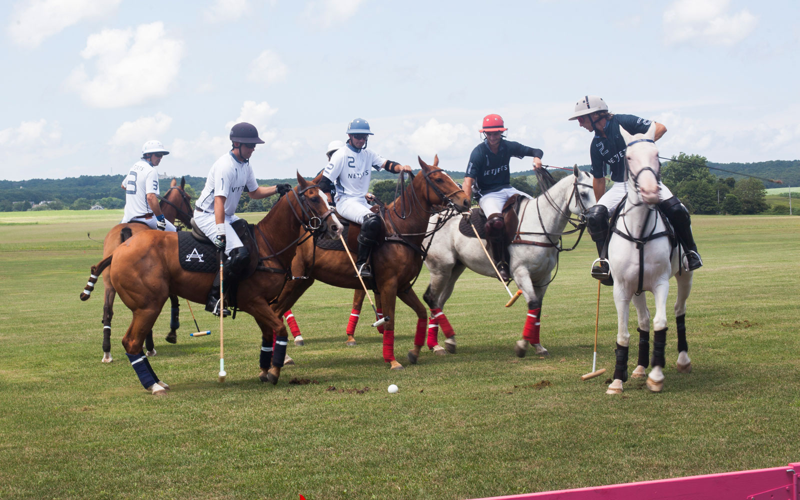 NetJets polo match