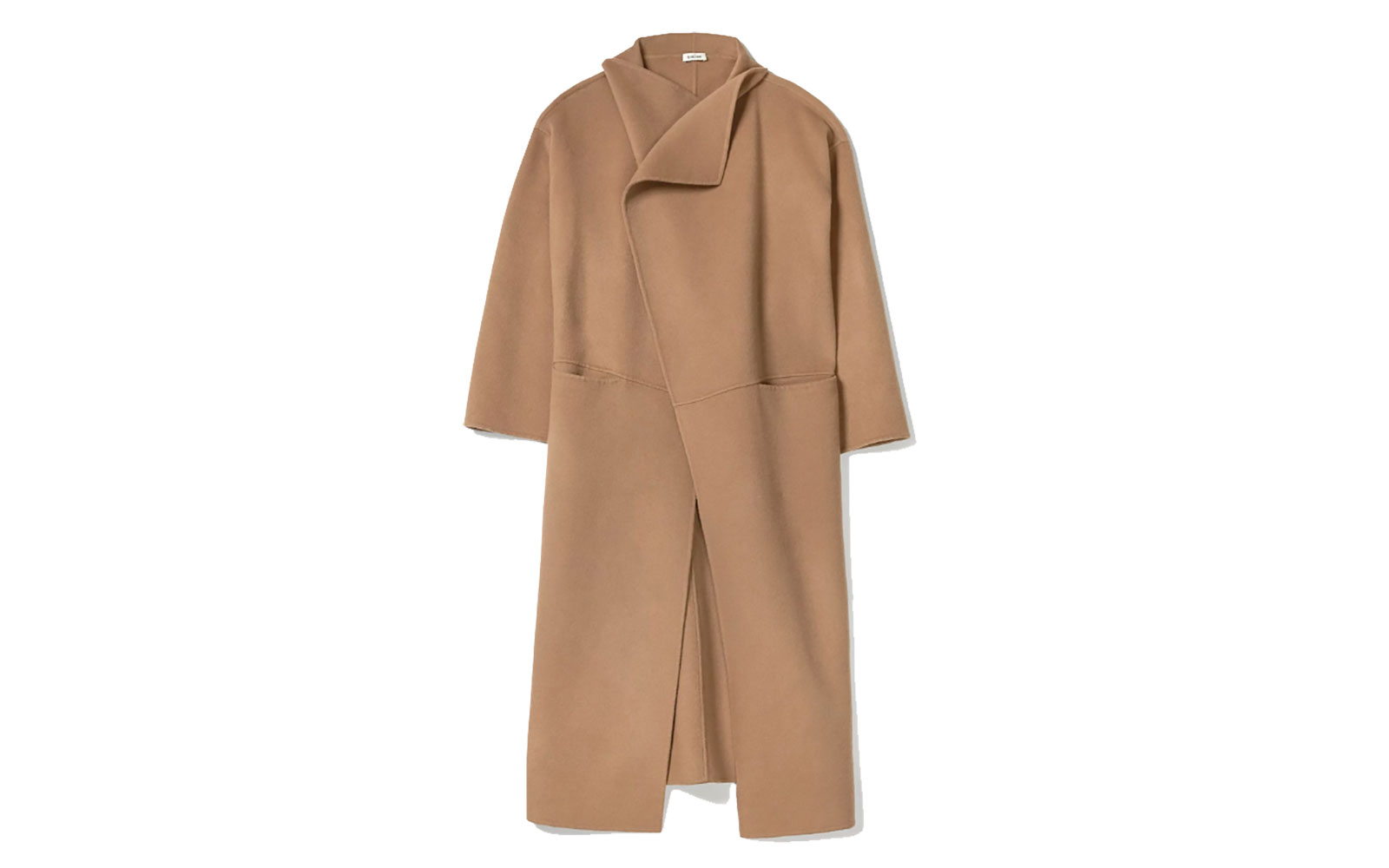 Annecy coat camel