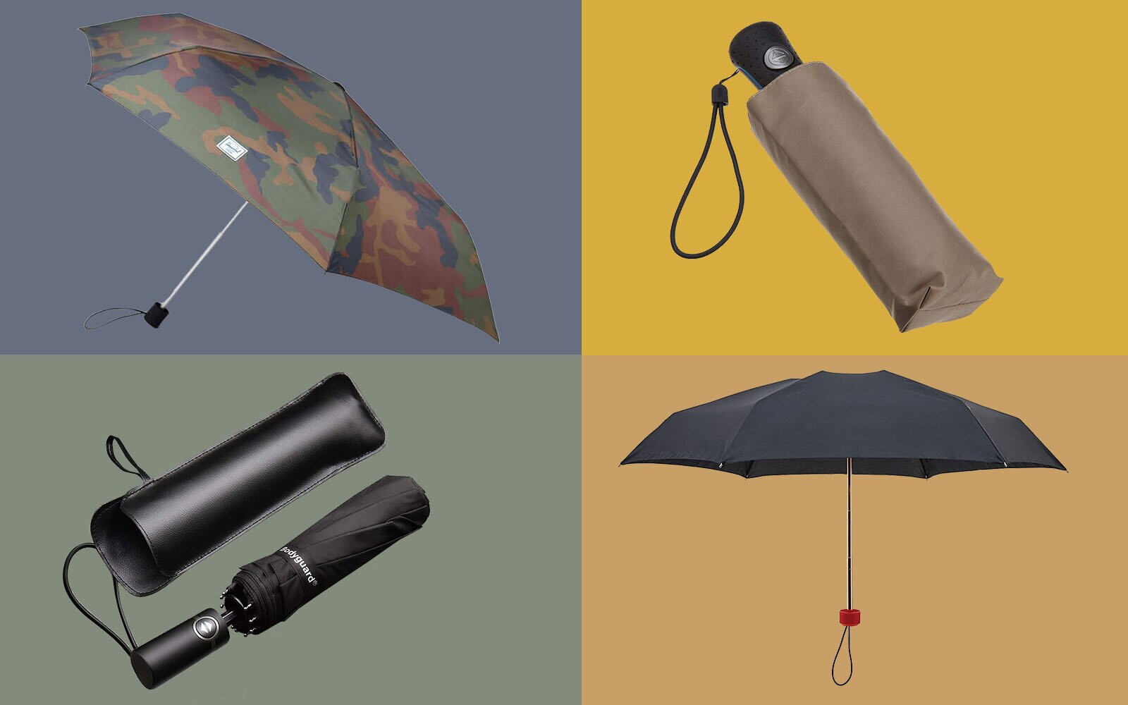 The Best Travel Umbrellas That Fit In