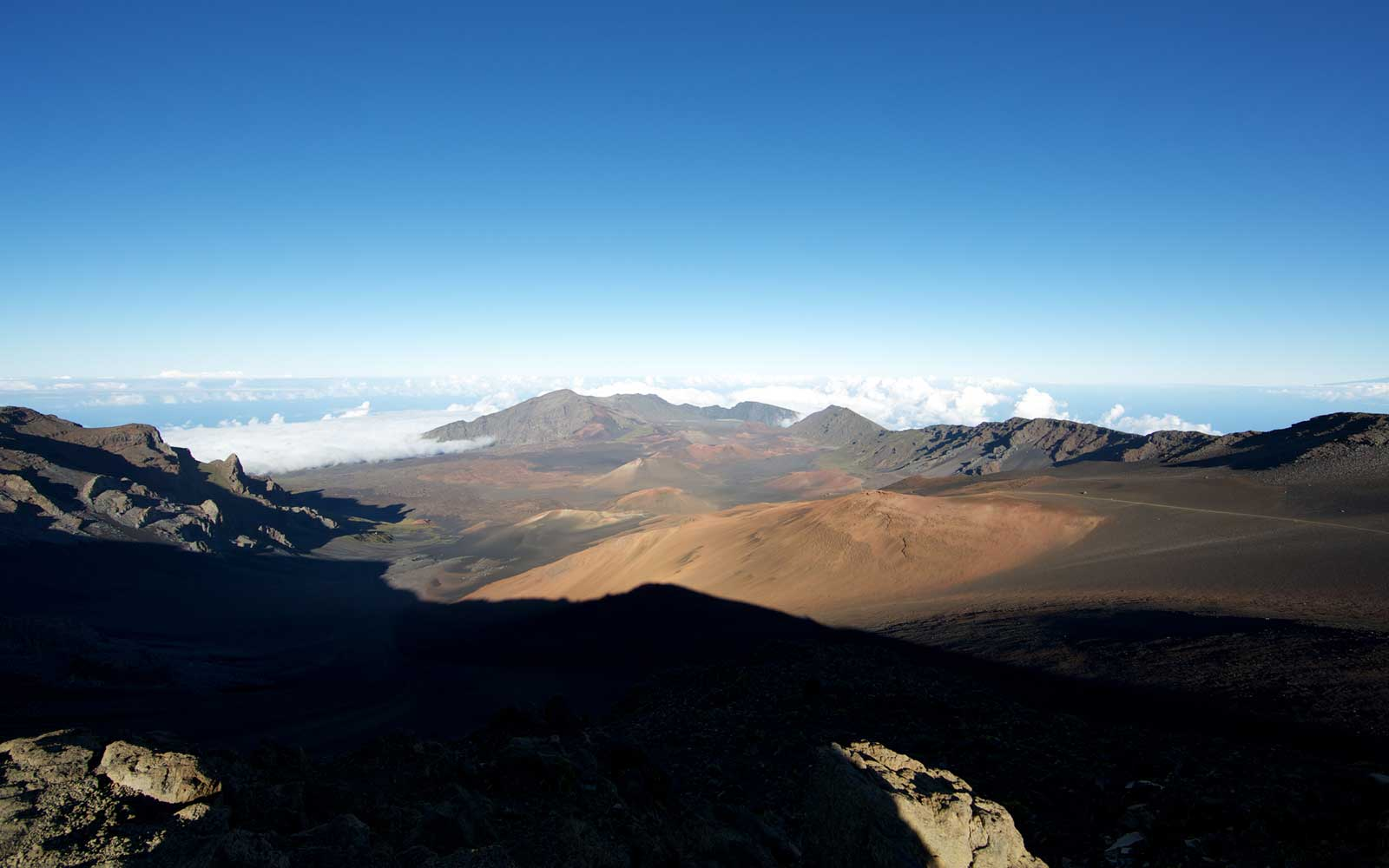 Early morning Haleakala Crater