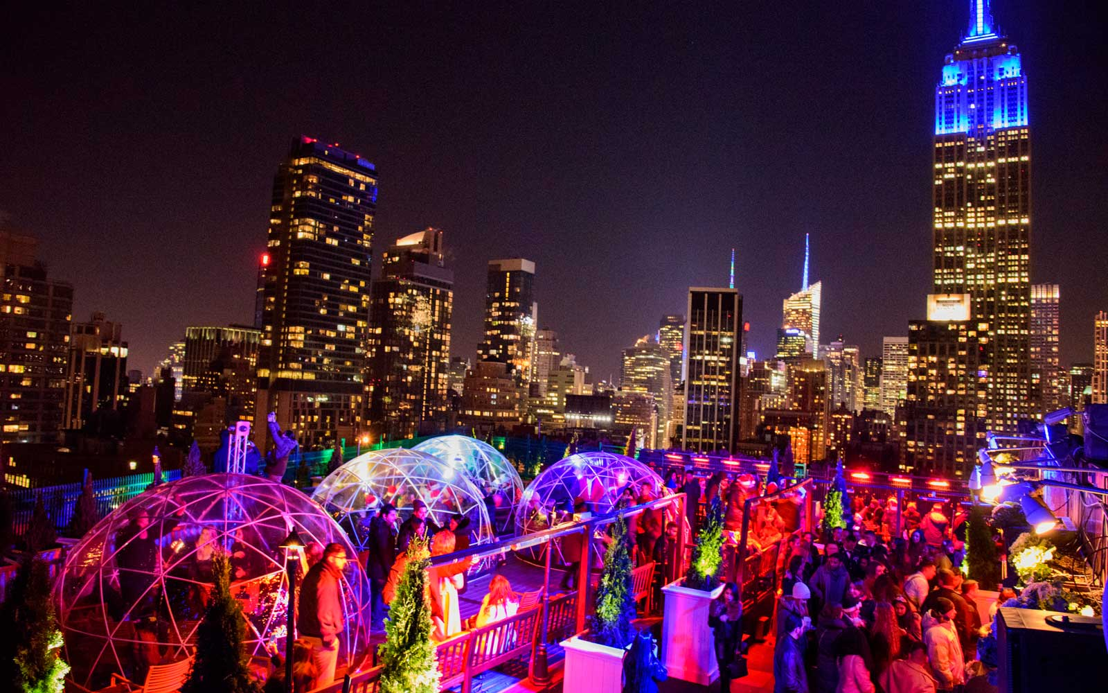 Igloo Bar at 230 Fifth Rooftop
