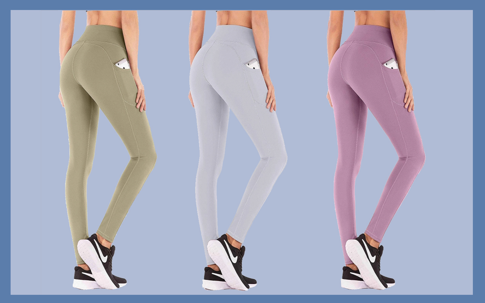 IUGA High-Waist Yoga Leggings