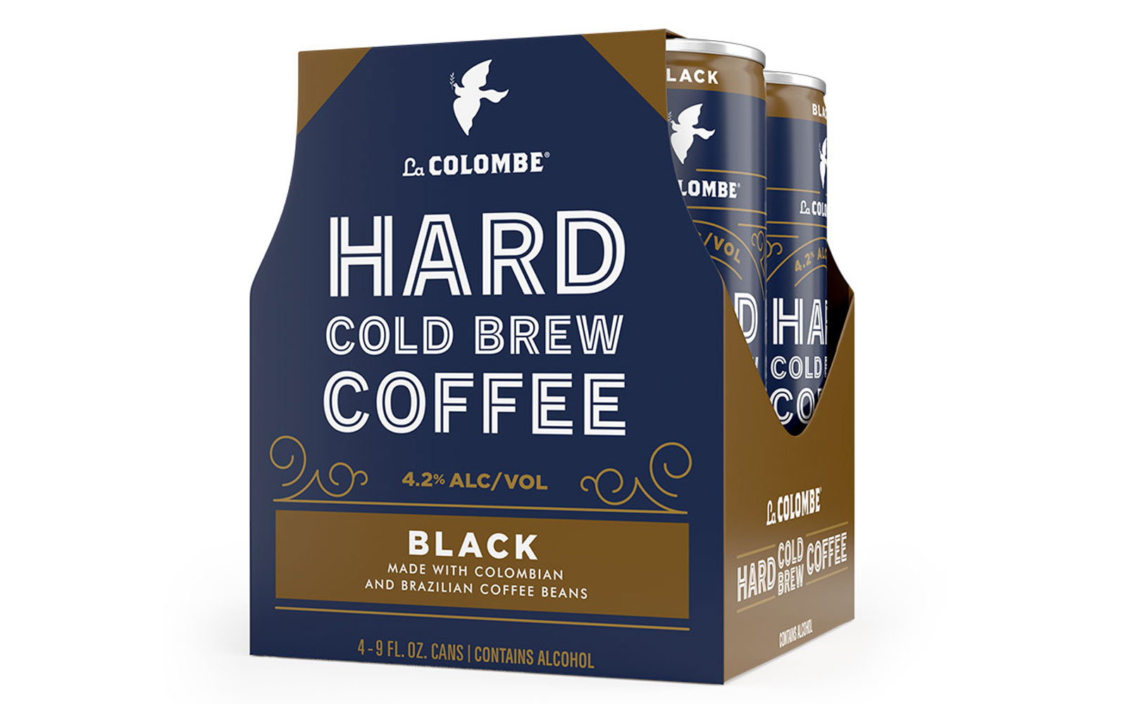 La Colombe's hard cold brew coffee